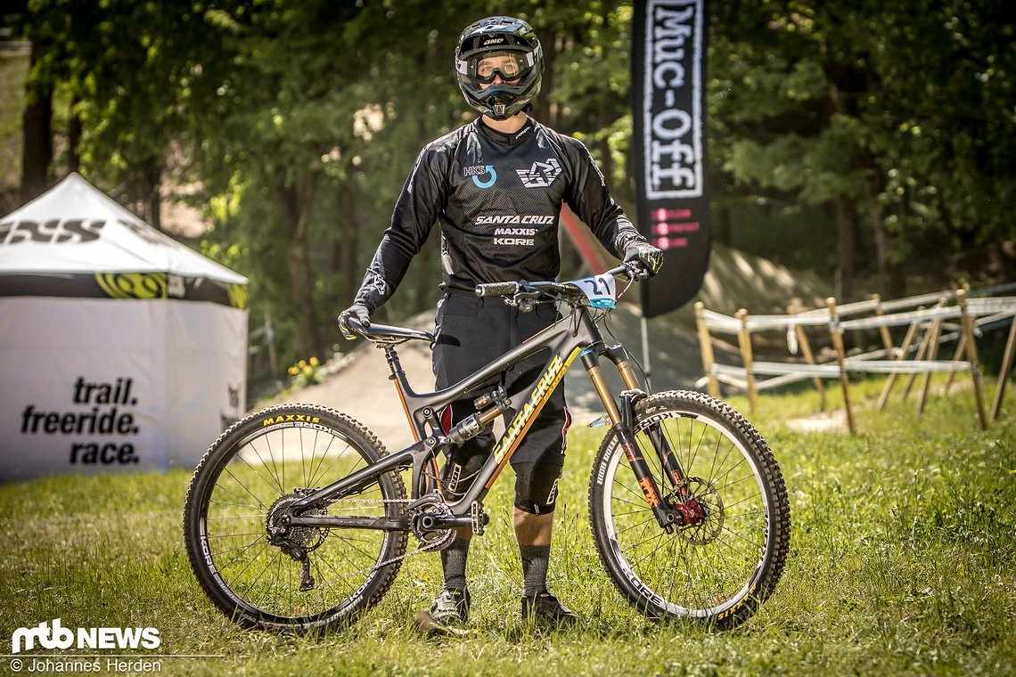 Fabian Heim (GER), Santa Cruz Bicycles