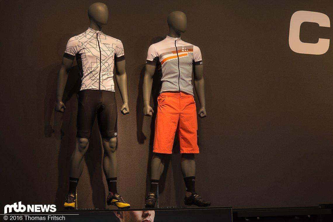 Präsentation einer Kombinationsmöglichkeit für sportliche Fahrer.