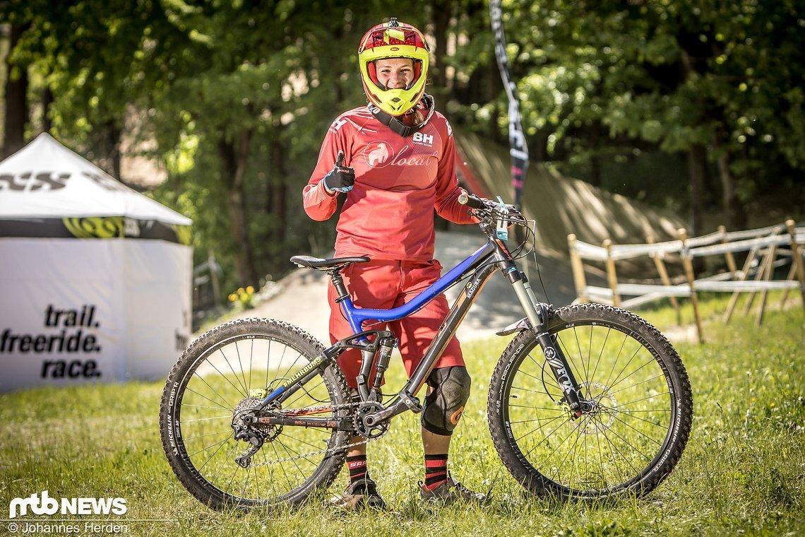 Annika Jeschke (GER), BH Bikes Factory Team