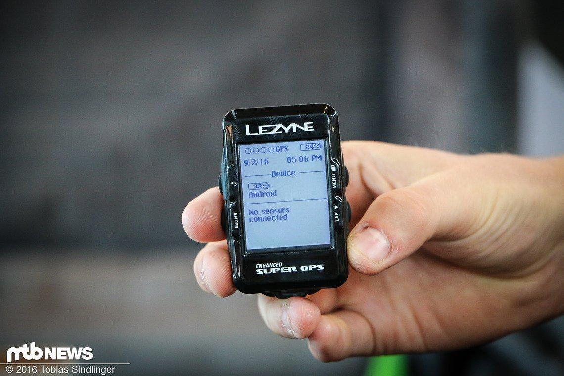 Die innovativste Neuheit aus dem Hause Lezyne im Jahr 2016: Ein neues GPS-Gerät.
