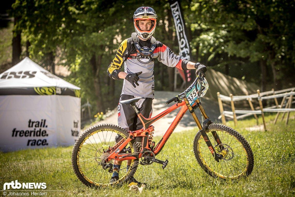 Mika Hopp (GER), Team GZ-Racing