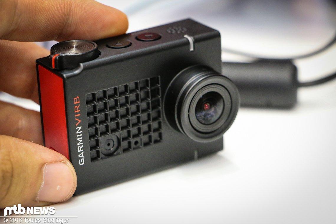 Via GPS und anderen Parametern können Daten parallel zur Aufnahme aufgezeichnet werden und dann in das Video eingebunden werden