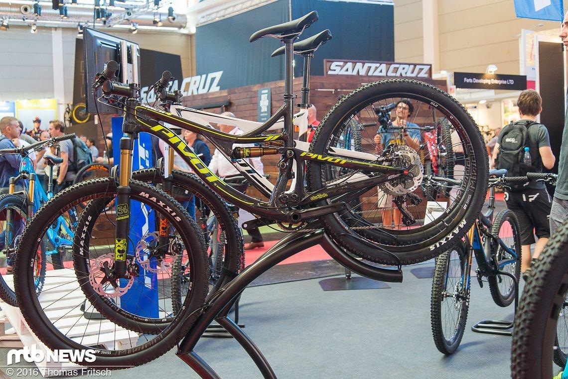 Schnelles Trailbike mit Fox 34er und DW-Link Hinterbau