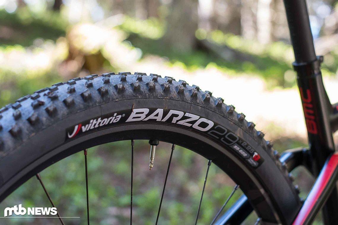 Die recht unbekannten Vittoria-Reifen kommen an allen Modellvarianten zum Einsatz