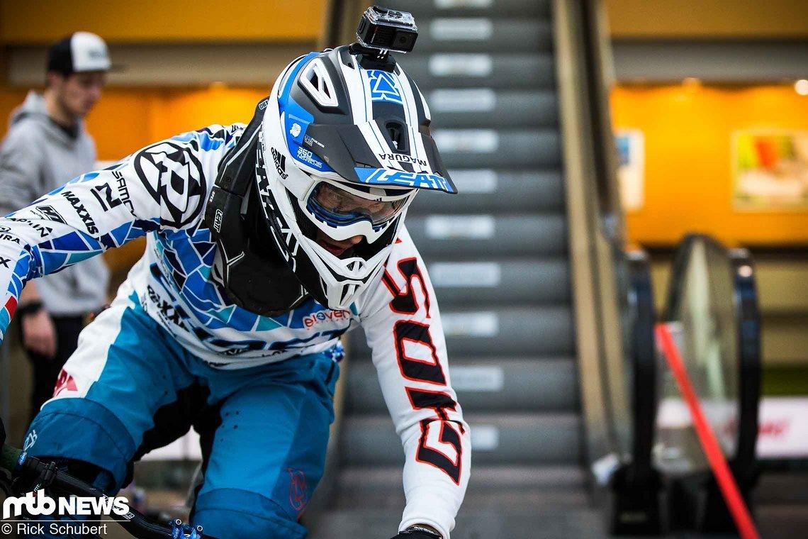 Auch Hannes Slavik war in Budapest dabei. Der Österreicher war schnell, fand sich aber wegen der engen Zeiten im Finale nur auf Rang 6. wieder