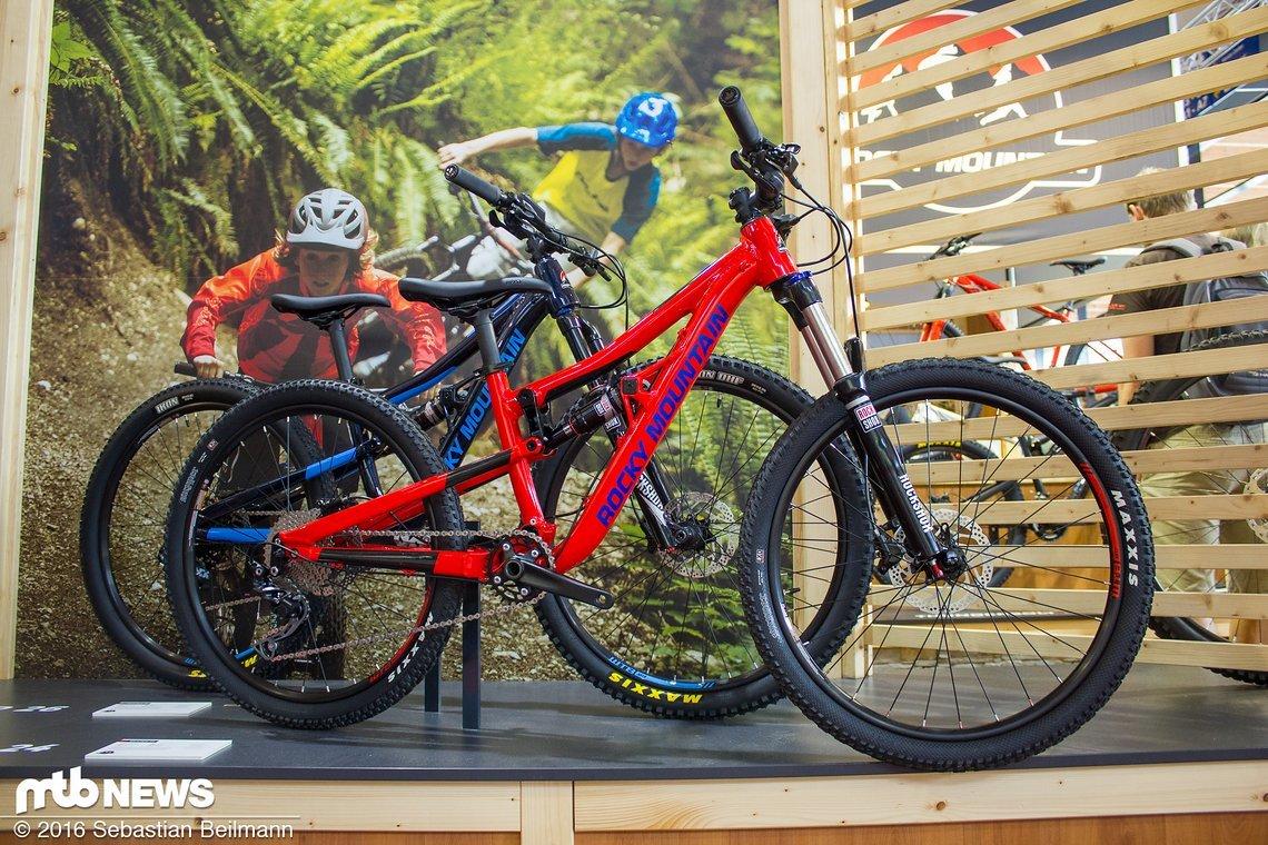 """Das Kinderrad Reaper kann mit 24"""" oder 26"""" Laufrädern gefahren werden..."""