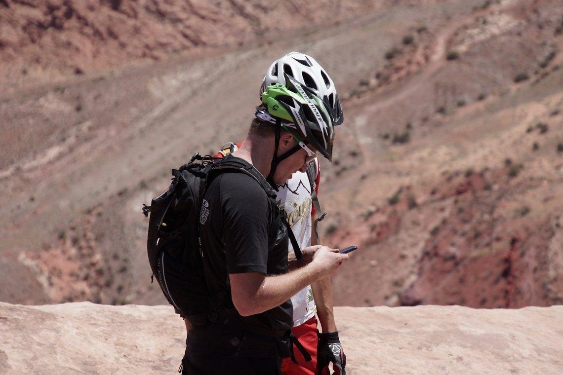Smartphone in der Wüste? Vergiss es.