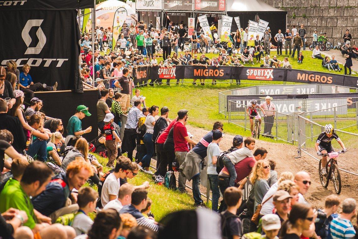 Gut besuchte Rennen beim Swiss Bike Cup