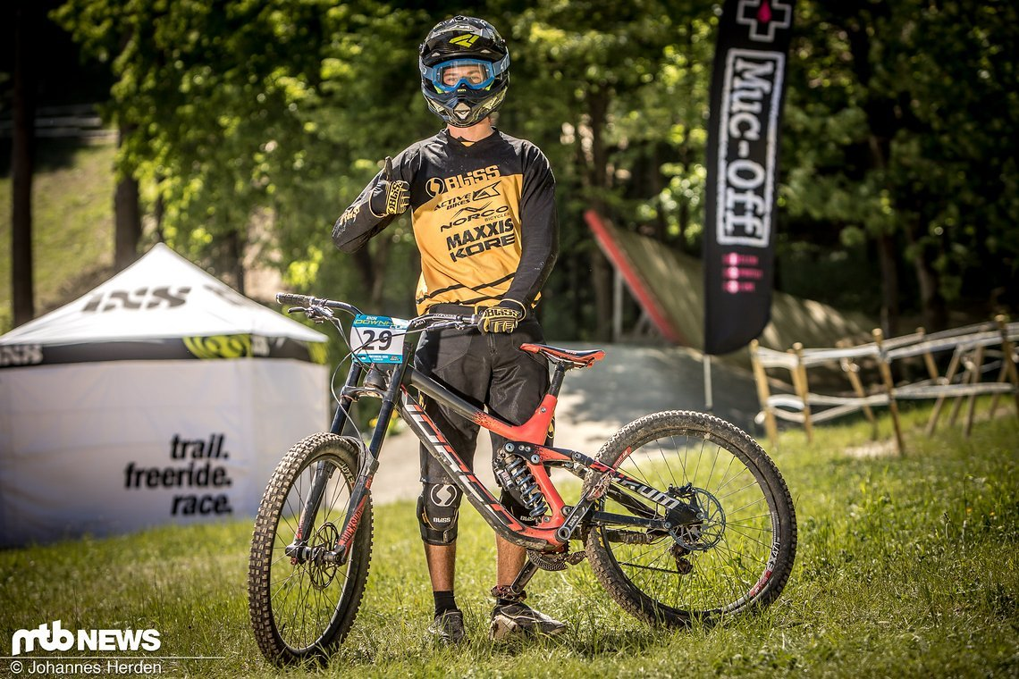 Jonas Mucha (GER), Norco Offroad Racing Germany
