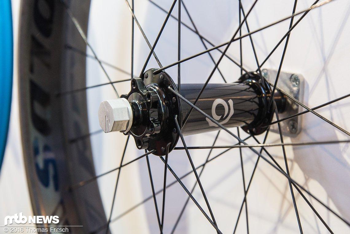 Bis auf den Fatbikes-Laufradsatz haben alle Naben eine Centerlock-Aufnahme