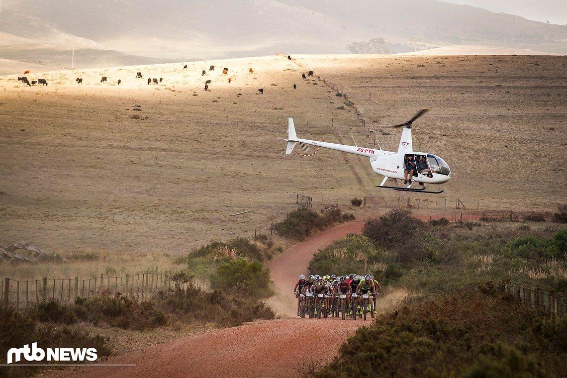 Die Bilder die das Cape Epic liefert sind einmal mehr gigantisch