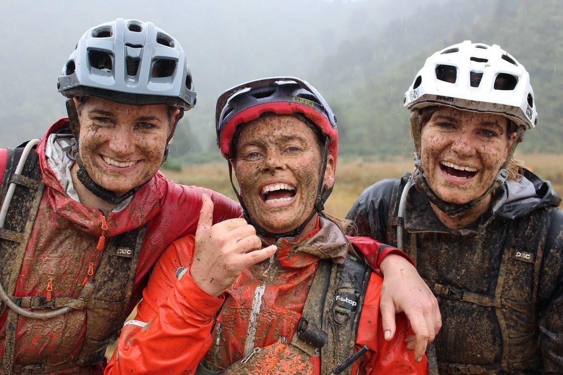 Anka Martin, unsere Gastmama während unseres Nelson-Aufenthalts und Race Organisatorin, ist das Lachen zum Glück nicht vergangen.