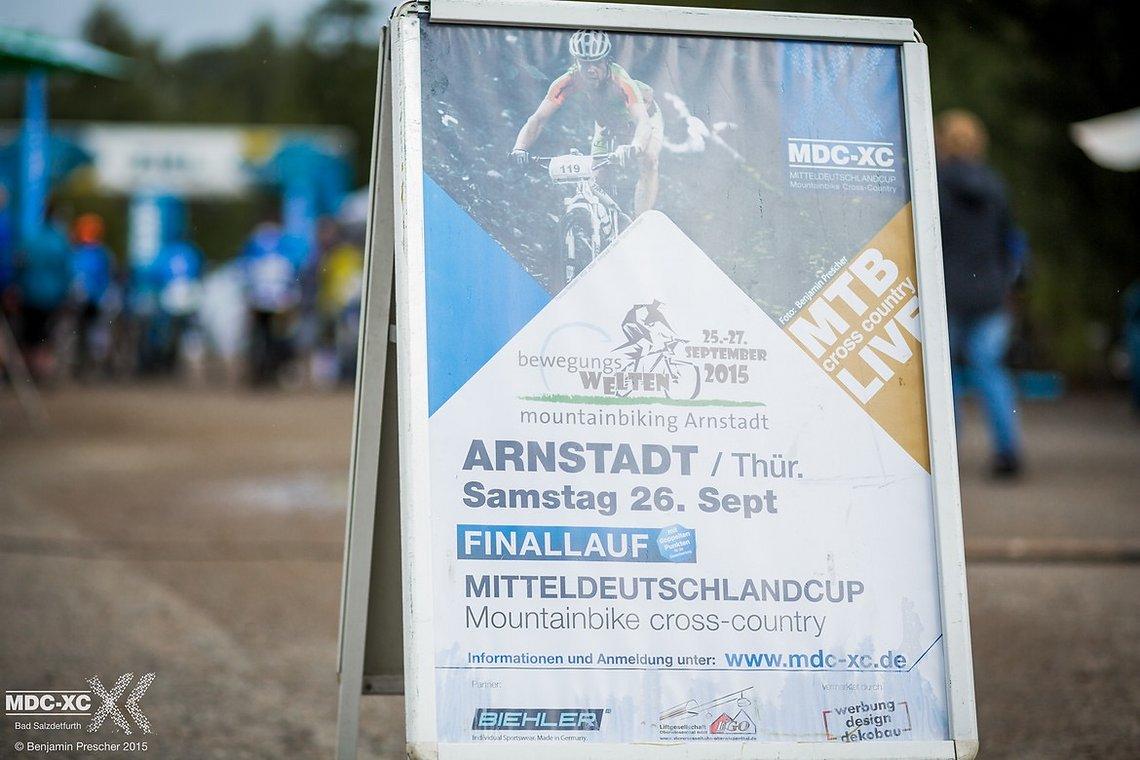 Wir sehen uns wieder zum Finallauf des MDC-XC Cups in Arnstadt