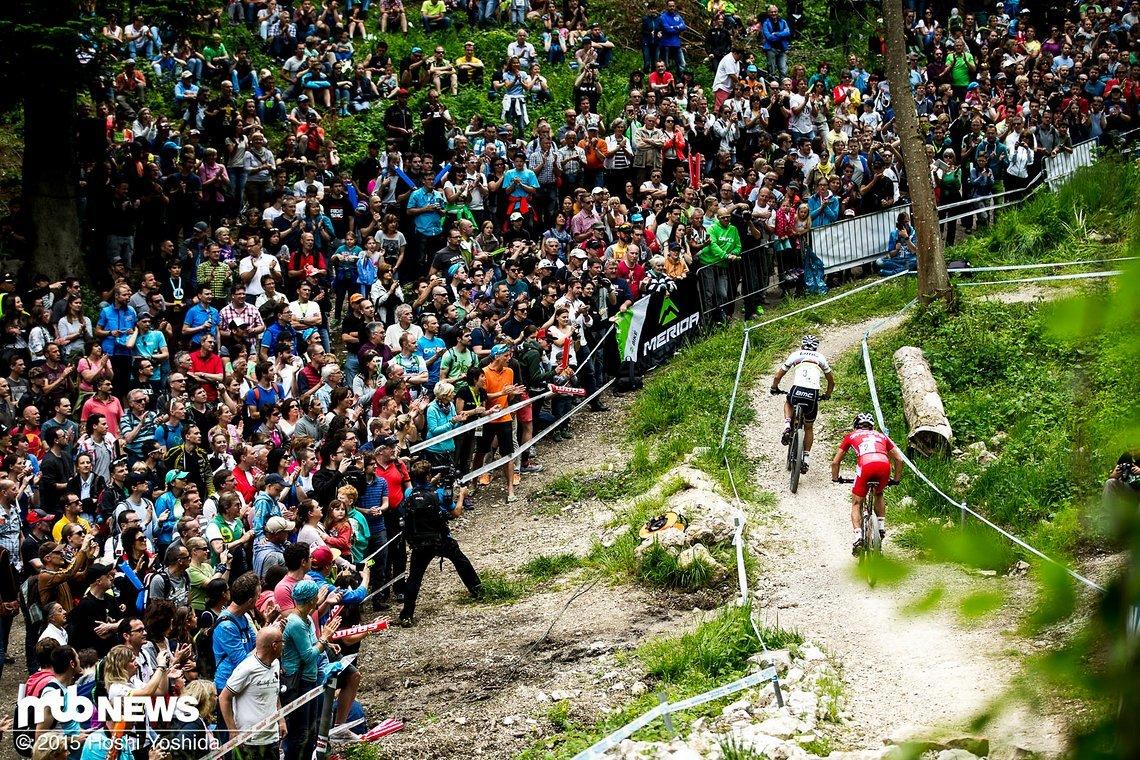 Riesen Begeisterung beim Weltcup in Albstadt