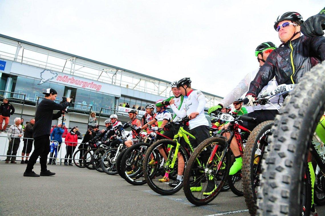 Start zum 17h Rennen am Nürburgring