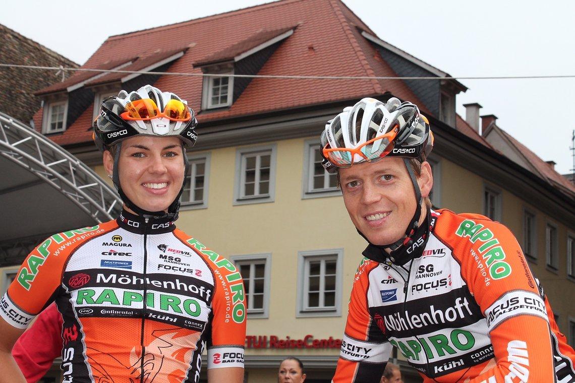 Immer dabei, eine Nachwuchshoffnung für Deutschland, Sarah Reiners