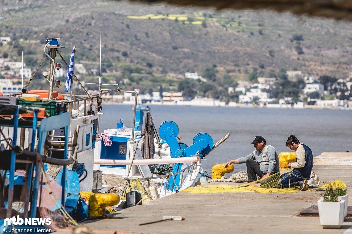 Frischen Fisch kriegt man auf jeder griechischen Insel