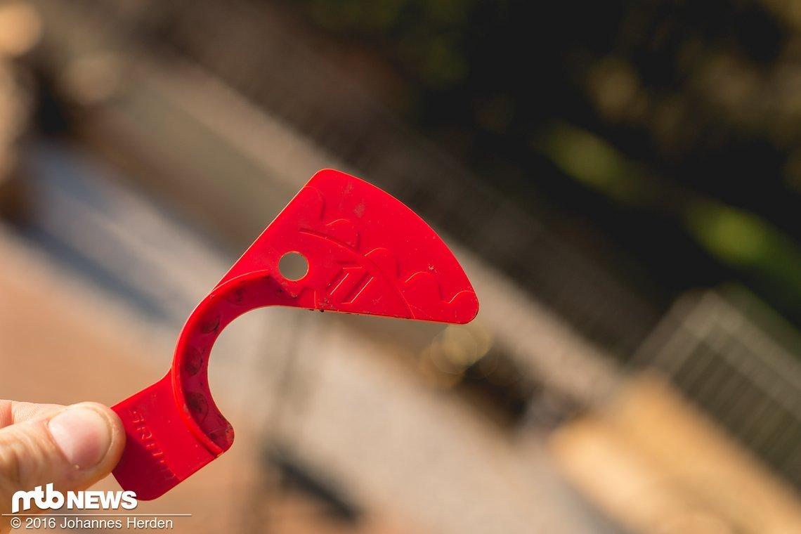 Das Tool zur perfekten Einstellung des Abstandes zwischen Ritzel und Schaltröllchen