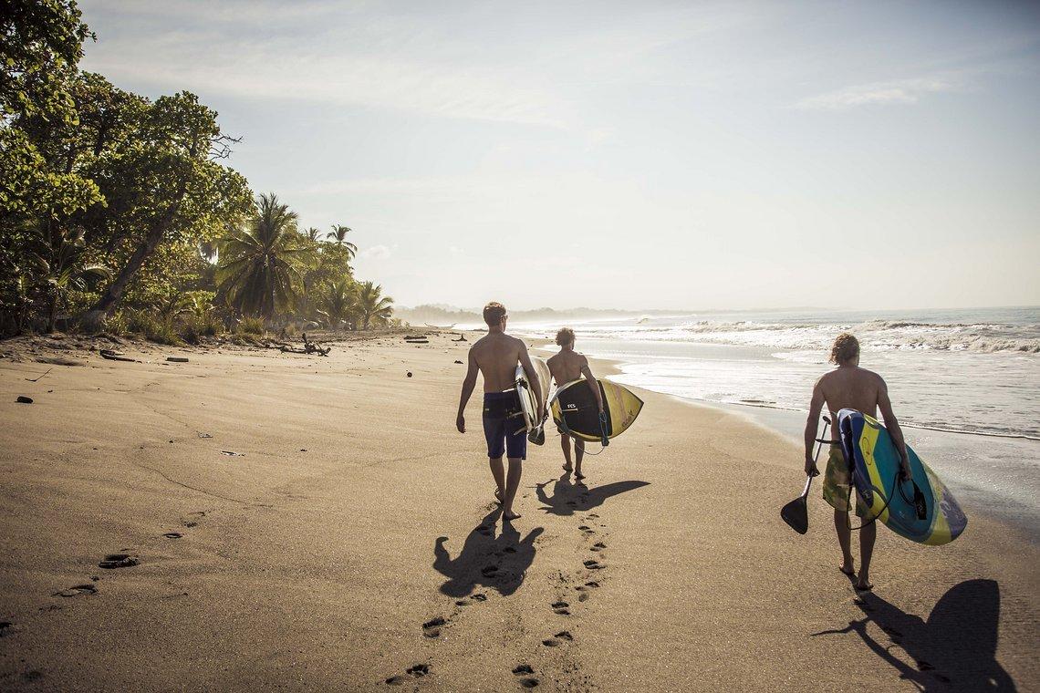 Vom Bike aufs Surfbrett