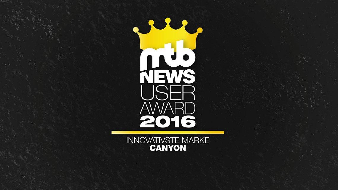 user awards gold Innovativste Marke background16 9