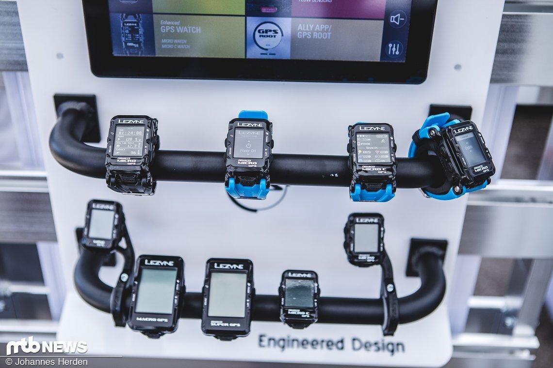 Die komplette Palette an GPS-Geräten