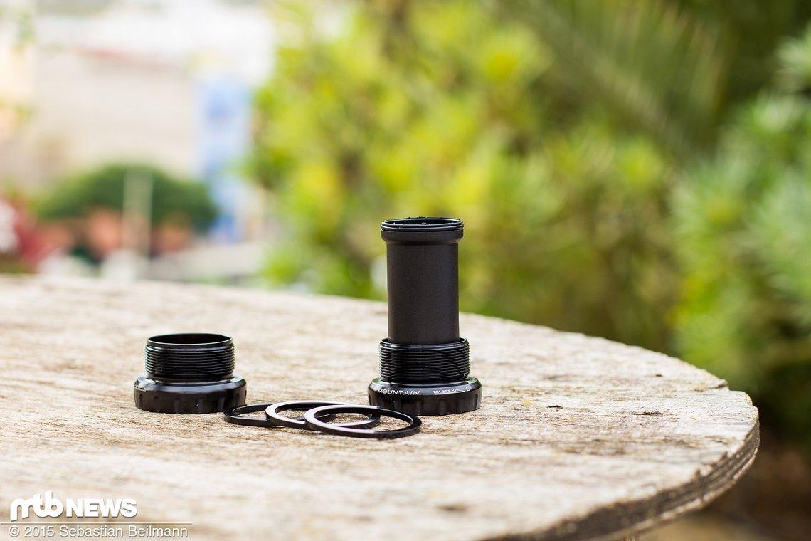 Das 42 mm Tretlager ist Standard