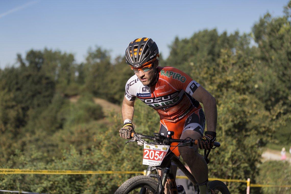 Markus Möller, Sieger des letzten Jahres startet dieses Jahr in der 2er Wertung.