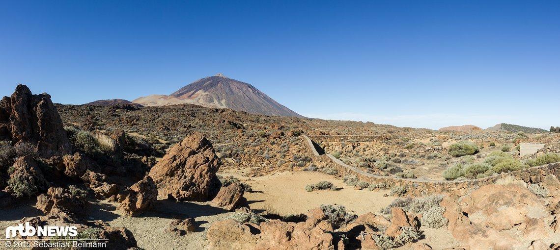 Den Teide bestaunen
