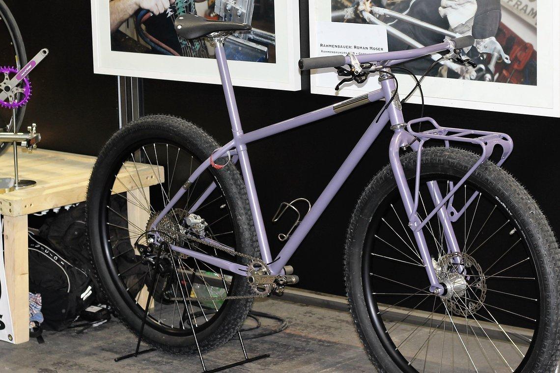 Auch bei der Berliner Fahrradschau war das Bike zu sehen