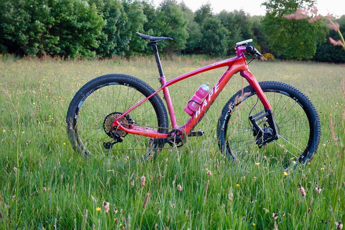 Racehardtail 2017 made by www.hape-bikes.de
