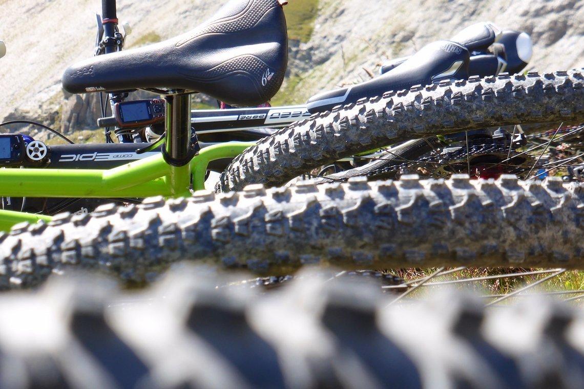 Wer hat die schönsten Stollen und das tollste Reifenmaß?