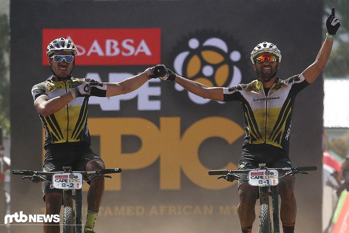 Dritter Sieg in Folge beim Cape Epic - berücksichtigt man den Sieg bei der letzten Etappe aus dem Vorjahr