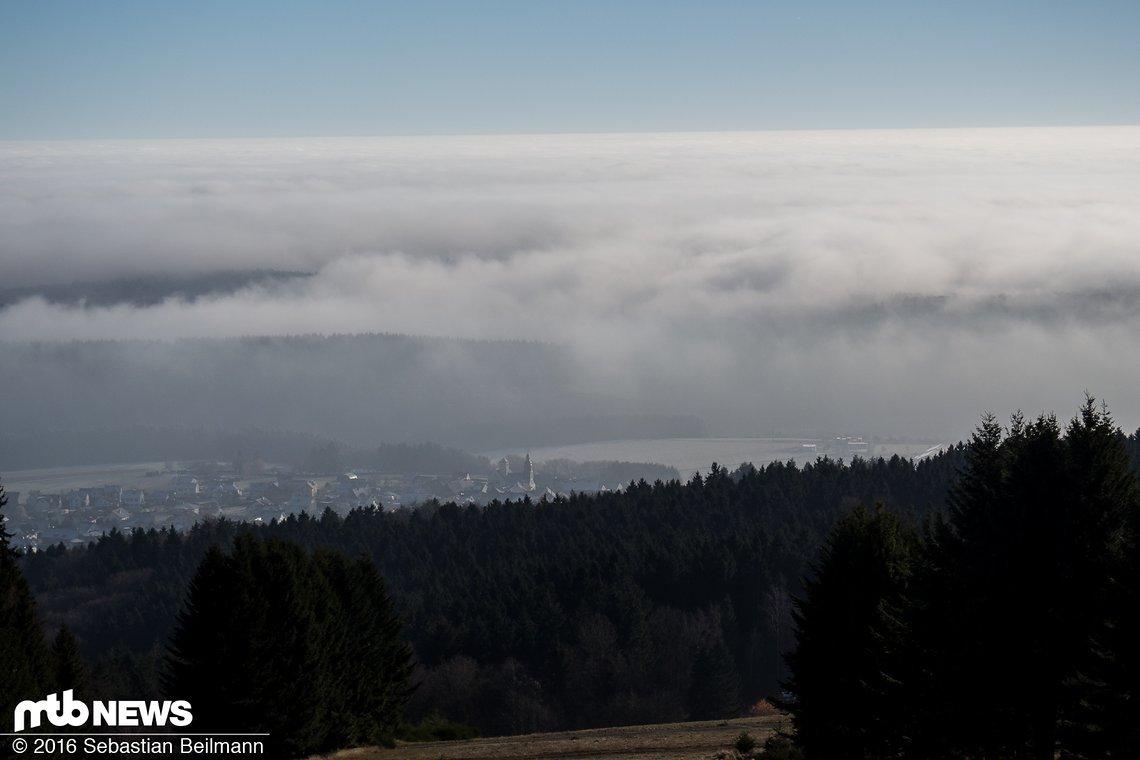Traumhafter Ausblick auf Stipshausen