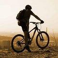 Mountainbike in der Stadt Bremen