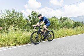 Die Sitzposition ist leicht sportlich, aber eher Endurance orientiert