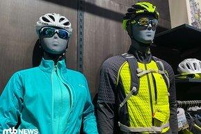 Am Vaude Stand gab es wieder viel Green Shape-zertifizierte Mode zu sehen