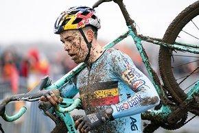 Wout van Aert fuhr auf den 4. Platz, was angesichts seines späten Saison-Einstiegs eine beachtliche Leistung ist
