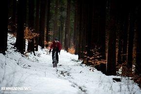 Im Winter lohnt sich der Umstieg auf ein Gravel- oder CX-Bike