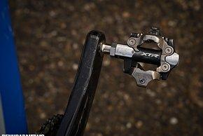 ...und Shimano XTR-Pedale