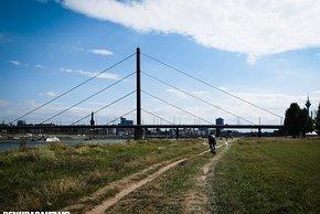 Die flachen Kilometer am Rhein haben es in sich