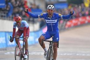 Philippe Gilbert triumphierte am Ende bei Paris-Roubaix