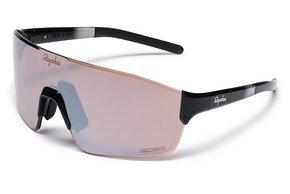 ZER01XX BLK H1-20 Pro Team Frameless Glasses Black   Black Mirror Lens 2