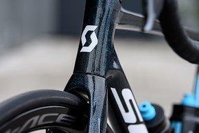 Mit Glitter-Lack hat Scott schon das Weltmeister-Bike von Annemiek van Vleuten veredelt