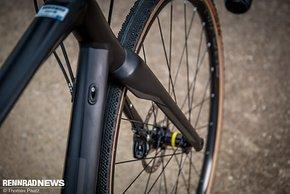 Die Mavic All-Road UST Laufräder nehmen Tubeless-Reifen auf