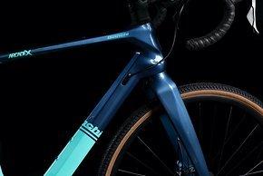 Im Rahmen ist Platz für Reifen bis 42 mm in 700c...