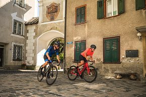Ilanz Altstadt: Start der Tour