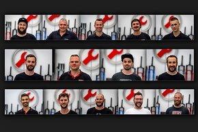 Immerhin 14 der 16 Mitarbeiter des SRAM Dealer Service Direct-Teams waren bei unserem Besuch vor Ort