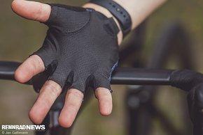 Eine dünne Innenhand soll für viel Grip und Luftigkeit sorgen …