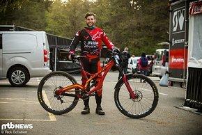 Neu bei Unior Devinci Factory Racing im Team ist der junge Amerikaner Dakotah Norton