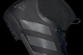 An wichtigen Bereichen sind die Schuhe verstärkt.